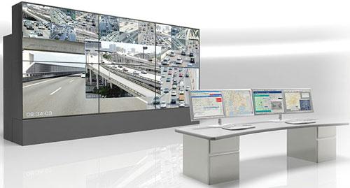 ویدئو وال در مراکز کنترل ترافیک