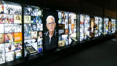 ویدئو وال در موزه ها